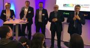 InVivo a présenté son projet des 1000 fermes numériques lors du Salon de l'agriculture ce 28 février. Photo : A.Lavoisier/Pixel image