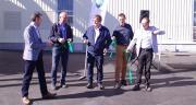 L'inauguration du nouveau stockage de légumes secs a eu lieu le 5 octobre à Mouilleron-le-Captif (85) en présence des instances dirigeantes. CP : Guihard/pixel Image