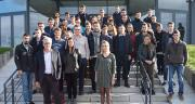 Triskalia a accueilli les 50 alternants lors d'une journée d'accueil organisée le 6 novembre au siège à Landerneau. ©DR