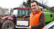Pierre-Éloi Lesage, fondateur d'AgriAgree.com: «Grâce à cette plateforme de mise en relation des agriculteurs, des acheteurs, et des fournisseurs, je voulais offrir une meilleure visibilité aux producteurs.» CP : AgriAgree
