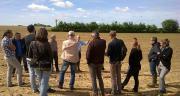 Une trentaine d'agriculteurs, conseillers agricoles et distributeurs étaient présents aux journées de sensibilisation organisées par BASF. © BASF