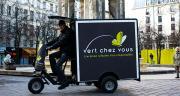 Triporteur électrique de Vert Chez Vous, la filiale distribution urbaine et écologique de Labatut. Photo : Labatut