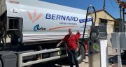 Christophe Saint-Cyr, directeur opérationnel de Bernard Service Énergies, est convaincu par le B100. Photo : groupe Bernard