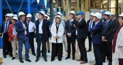 Ce vendredi 21 septembre, près de 500 agriculteurs adhérents et plusieurs élus et partenaires étaient présents à l'usine de la COC à Chalandray (Vienne), pour l'inauguration de l'unité de raffinage alimentaire. Photo O.Lévêque/Pixel Image