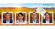 Lors de la conférence de presse du 6 mai, les dirigeants de Certis ont détaillé la stratégie de développement de la gamme Biorationals (produits de biocontrôle et produits UAB).