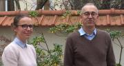 Aline Lapierre, chef de projet Cereopa, et Philippe Éveillard, directeur agriculture, environnement et statistiques à l'Unifa. Photo : H.Sauvage/Pixel image