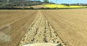 Les agriculteurs sont dans les parcelles et la coopérative Dauphinoise se mobilise pour les approvisionner. Photo : DR