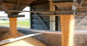 Pour répondre à la demande croissante, la coopérative de Creully investit dans un silo de 3000 tonnes, dédié aux céréales bio. ©X.Beguet-Zefoto.net/Fotolia