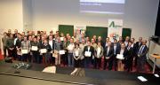43 techniciens-conseil d'Unéal ont reçu leur diplôme sur la commercialisation des céréales. La formation a été créée de toute part avec l'Isa de Lille, Agritel et Unéal. ©S.Bot/Pixel Image