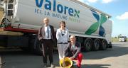 Valorex se développe au Sud et à l'Est de la France, mais aussi à l'étranger, détaillent Pierre Weill, président de Valorex, Béatrice Dupont, directrice du développement et Stéphane Deleau, directeur.