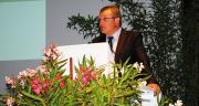 « Pour maintenir notre filière à son niveau d'excellence, nous devons être à l'affut des innovations » : Jean-Noël Dhennin, président de la Fnams, au congrès de Nîmes. © A.Bressolier/Pixel Image