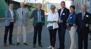 Inauguration du nouveau portique de chargement Cavac, aux Sables d'Olonne, le 22 septembre 2017. © O.Lévêque/Pixel Image