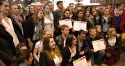 Cinq projets étudiants ont été primés au Sia 2016, pour le concours « Inventez les coopératives agricoles de demain ». Photo : O.Lévêque/Pixel Image