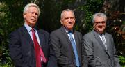 De droite à gauche : Pascal Prot, président du groupe Vivescia ; Alain Le Floch, directeur général du groupe Vivescia, et Paul Roux, co-gérant de Siclaé.