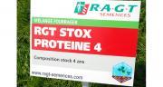 La plupart des semenciers présents au Salon de l'herbe proposaient des mélanges labellisés France Prairie. Photo : N. Tiers/Pixel image