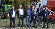 De gauche à droite : Patrice Brisson (EMC2), Yves Beudy (CAL), Benoît Kennel, Benoît Mallinger, Thierry Darbin (beApi), Aurélien Bourgeois (EMC2) et Guillaume Canard (be Api). Photo : H.Flamant/Terroir Est.
