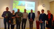 4 agriculteurs lauréats des Trophées du sorgho, qui récompensent l'engagement des producteurs dans cette culture. Photo : Semences de Provence.