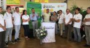 Sylvain Robinet a présenté Natura'pro, aux côtés de Christophe Devos, le nouveau président et Bernard Comte, vice-président, et des équipes locales.