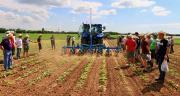 La coopérative Terre Atlantique organisait le 31 mai 2017 sa journée agronomique à Aigrefeuille-d'Aunis (Charente-Maritime), en présence de 250 agriculteurs. © Terre Atlantique