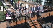 L'inauguration officielle du nouveau siège social de Limagrain a eu lieu vendredi 13 juin 2014. Photo: Photothèque Limagrain/Vincent Bouchet