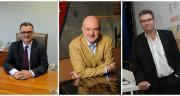 De gauche à droite : Michel Prugue, président du groupe coopératif Maïsadour, Thierry Zurcher, directeur général, et Philippe Carré, directeur général adjoint du groupe et directeur général de MVVH. Photos : Maïsadour et R. Poissonnet