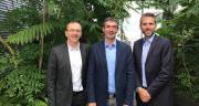 Un accord a été signé entre InVivo (Jérôme Cailleau), Unéal (Bertrand Hernu) et Smag (Stéphane Marcel).
