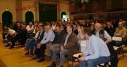 120 personnes ont assisté à un moment d'échanges au cours duquel des agriculteurs ont expliqué leur métier à des citadins. Christophe Descréaux était à l'initiative de cet évènement. DR