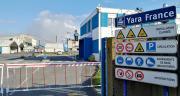 Depuis ce 21 septembre, l'usine Yara de Montoir-de-Bretagne bénéficie du label «origine France garantie» sur les productions d'engrais. © S.Bot/Pixel Image.