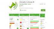 Conselio Culture est accesible sur Smartphone depuis deux ans. Photo : Terrena
