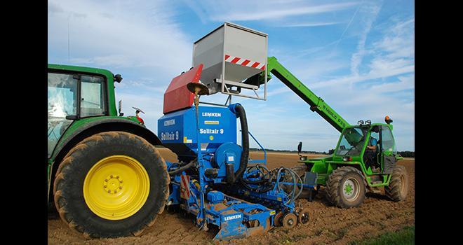 L'azote, le phosphore et le soufre sont les éléments principaux à localiser, d'après Marc Lambert, responsable agronomie chez Yara France. Photo : M.Lecourtier/Média&Agriculture