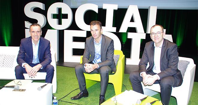 Jérôme Calleau, président (à droite) a dirigé l'assemblée générale de la Cavac avec Jacques Bourgeais, directeur général (à gauche) et Olivier Joreau, directeur général adjoint (au centre). CP : Guihard