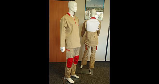 Les vêtements EPI créés par Cepovett sur les recommandations de BASF sont certifiés norme ISO 27065 : 2017. CP : Guihard/Pixel6TM