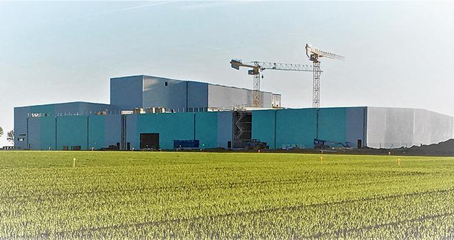 La nouvelle usine d'Avesnes-lès-Bapaume sera inaugurée le 15mai prochain. Photos : DR
