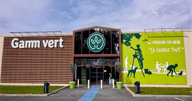 D'ici 2025, InVivo Retail vise un chiffre d'affaires réparti à hauteur de 40% pour le jardin au sens large, de 30% pour l'animalerie et de 30% pour l'alimentaire. © InVivo Retail