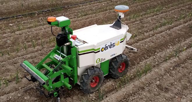 Cérèsia souhaite se placer en tant que partenaire de la coconstruction de la robotique agricole et être un véritable expert de ce domaine. CP : Cérèsia