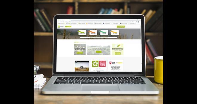 Agrifeel.fr comprend à ce jour quatre grandes thématiques: commander, produire, vendre et piloter. Cet outil a été conçu pour  correspondre le plus possible à la demande des usagers: les agriculteurs, mais aussi les acteurs de la coopérative. Photo: TDS