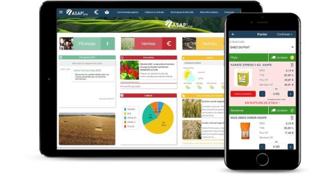 Asap'one est la nouvelle plateforme digitale d'Asape qui regroupe toutes les fonctionnalités essentielles à la gestion de la relation client/adhérent. Photo : Asape