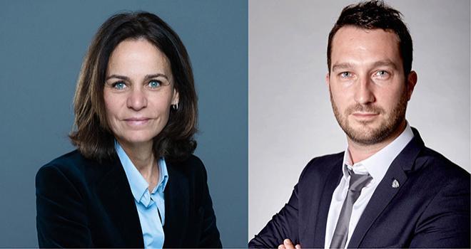 Nathalie Brastel, directrice générale Acron France et David Guignard, directeur commercial France pour Eurochem Agro. Photos : DR