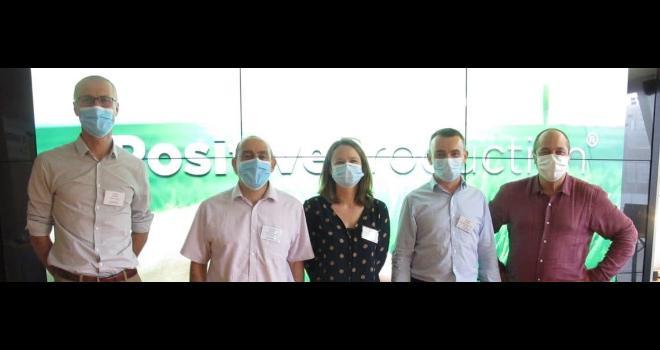 L'équipe de De Sangosse a présenté ses ambitions sur les biosolutions. CP : DR
