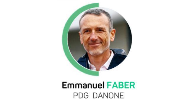 « Les agriculteurs peuvent remettre le carbone dans le sol. C'est l'agriculture de demain qui en dépend », indique Emmanuel Faber, PDG de Danone. CP : LFDay