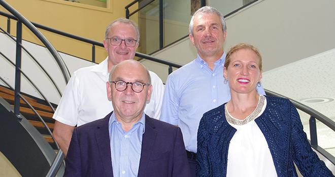 Quatre dirigeants de Végépolys Valley ont expliqué le fonctionnement et la gouvernance de ce nouveau pôle de compétitivité.