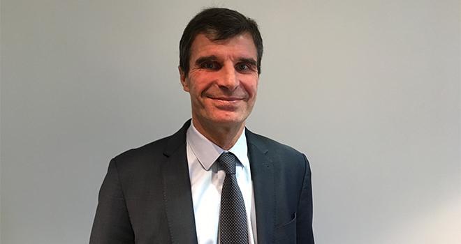 « Nous passons d'une vision de vente de produits à celle du développement de solutions pour une culture donnée, indique Vincent Gros, nouveau président monde de BASF Agricultural Solutions. C'est une évolution de notre métier. » Photo : S.Bot/ATC