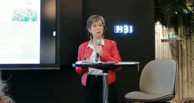 « C'est important pour nous d'avoir ces tendances afin de nous appuyer sur certains leviers et ainsi éclairer les investissements des entreprises », indique Eugénia Pommaret. © S.Bot/Média et Agriculture