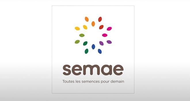 La création de Semae se traduit par un nouveau logo accompagné de la baseline « Toutes les semences pour demain ».