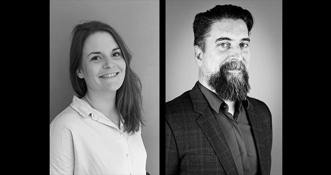 Morgane Leclère et Yannick Bossez viennent de rejoindre Audanis. Le cabinet compte quatre associés et quatre salariés. CP : DR