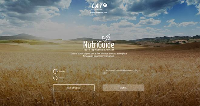 Boréalis L.A.T/ Le fabricant d'engrais Boréalis L.A.T lance une nouvelle application NutriGuide afin de permettre aux professionnels d'optimiser leurs apports en N, en P, en K et en S.
