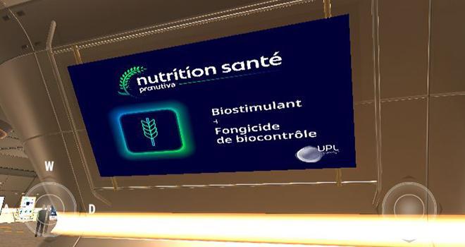 La société UPL lance un Salon virtuel autour de ses biosolutions pour la nutrition et la santé des plantes. Photo : DR