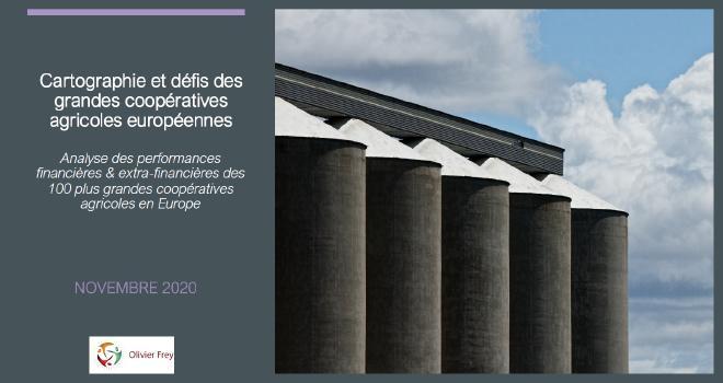 Olivier Frey a réalisé une étude sur les performances financières et extra-financières des cent plus grandes coopératives agricoles en Europe. CP : DR