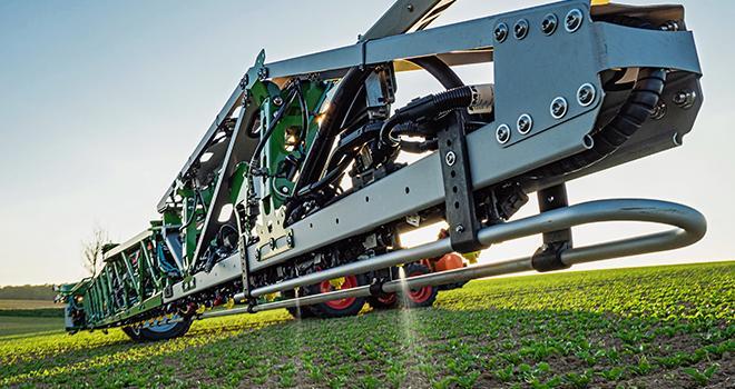 Bosch BASF Smart Farming, la joint-venture créée entre Bosch et BASF Digital Farming, distribuera la solution de pulvérisation intelligente Smart Spraying. Photo : BASF