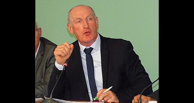 Sylvain Hinschberger, président de Coop de France Grand-Est : « Être les acteurs de cette évolution. » Photo : Jean-Luc Masson.